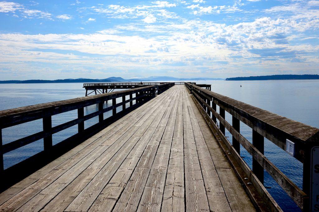 Pier in Sydney, BC - Wes Carlson